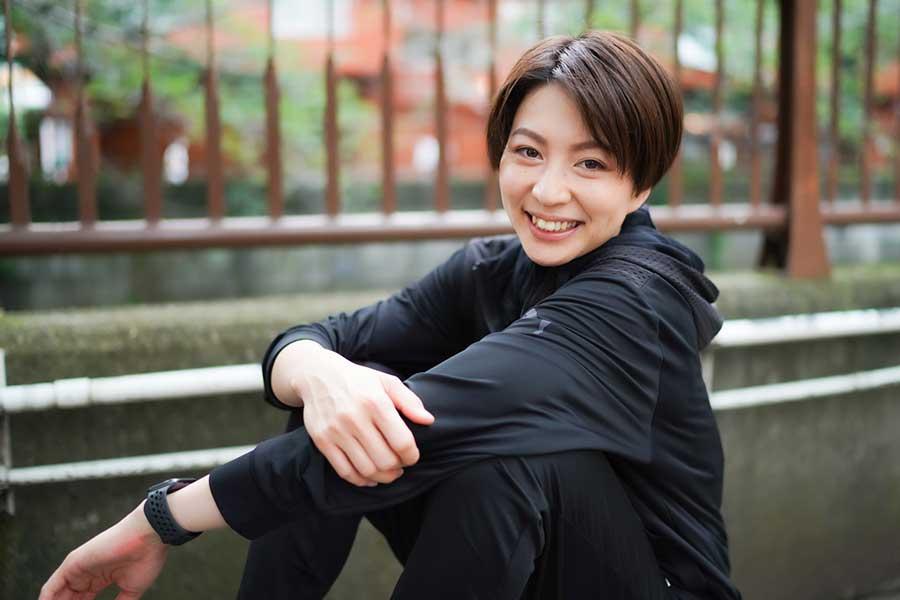 滝沢ななえさん【写真:荒川祐史】