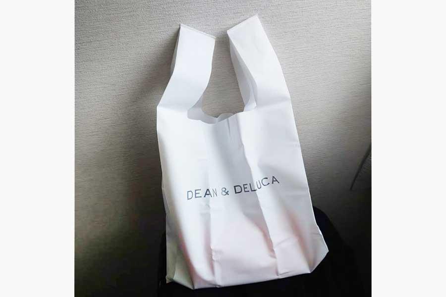"「DEAN & DELUCA」の""ミニマムエコバッグ""【写真提供:ミユキ(m6smile)さん】"