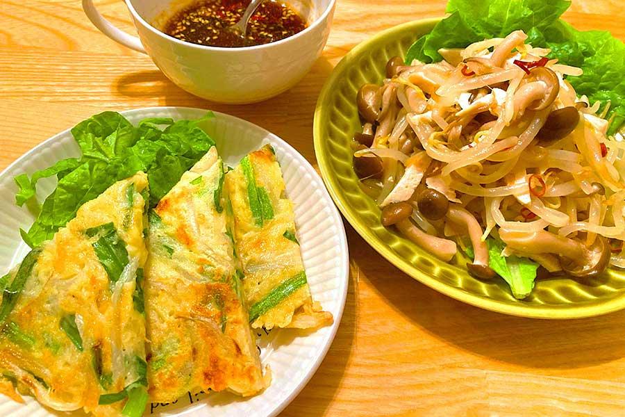 モヤシを使った簡単・韓流料理【写真:和栗恵】