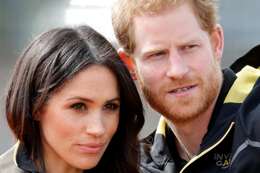 ヘンリー王子とメーガン妃【写真:Getty Image】
