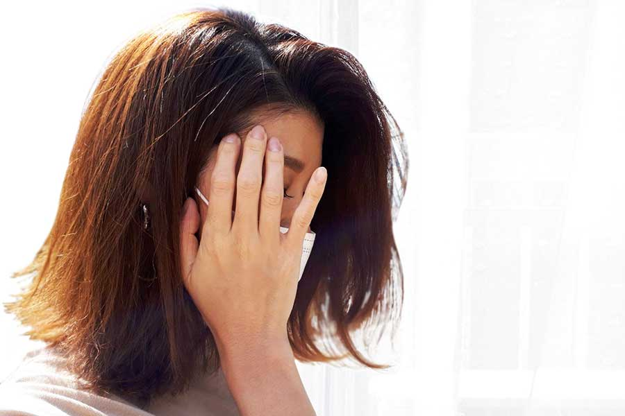 感染対策に心を砕くうちに、知らず知らずにストレスが溜まり更年期にも影響(写真はイメージ)【写真:写真AC】