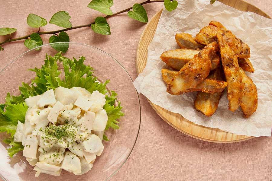 うまく下処理しておいしくいただくサトイモレシピ【写真:市川千佐子】