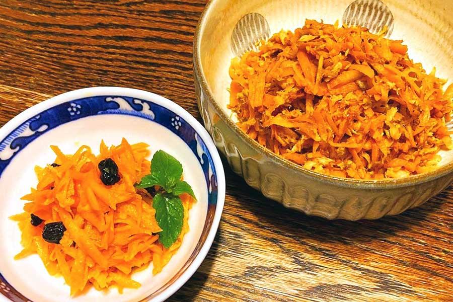 旬を迎えるニンジン。2品の簡単レシピをご紹介【写真:和栗恵】