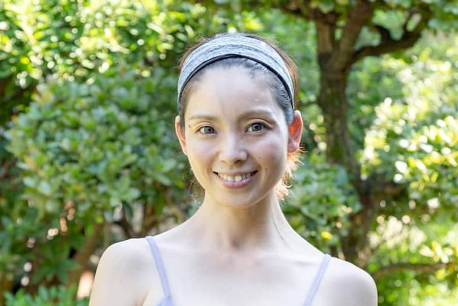 塔筋真弓さん。連載2回目は健康的なくびれを作るトレーニング法を聞いた【写真提供:塔筋真弓】