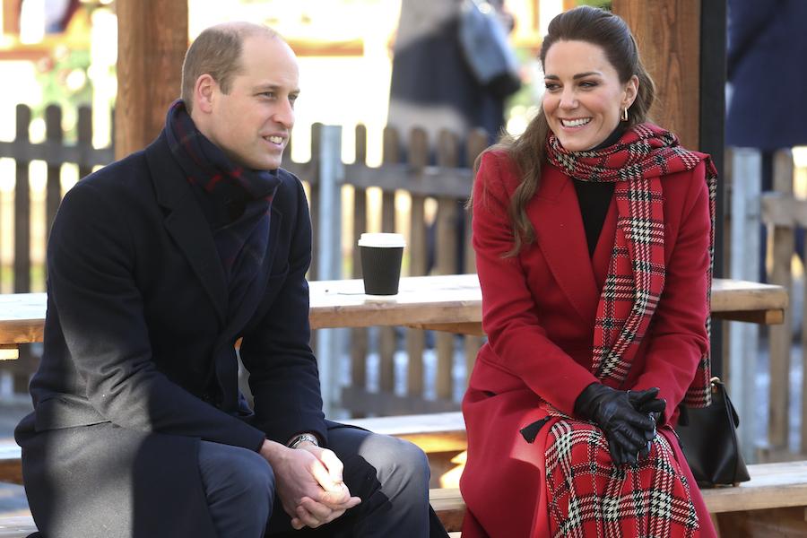 ウイリアム王子とキャサリン妃【写真:AP】