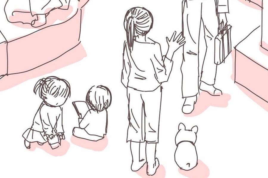 漫画のワンシーン【画像提供:みみママ(@mimiwamama1)さん】