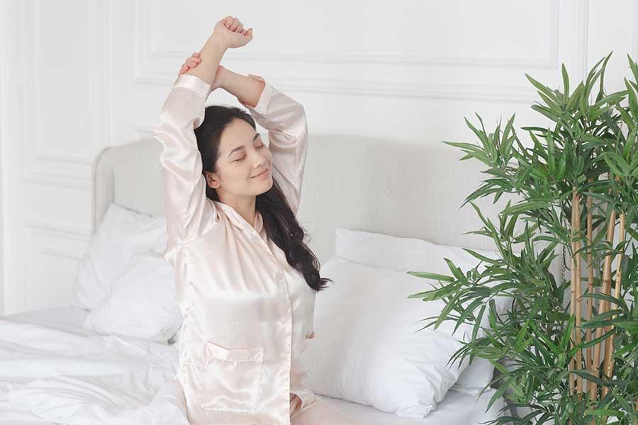 いい睡眠は運気アップにもつながる! 寝室の掃除で大切なこととは(写真はイメージ)【写真:写真AC】