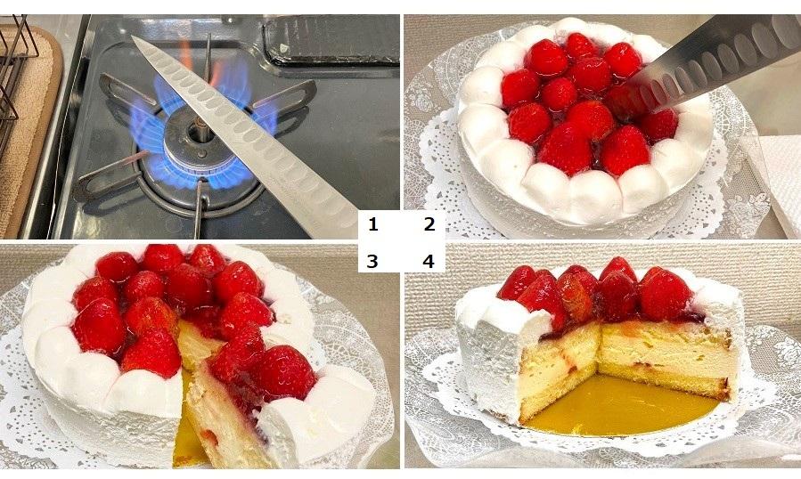 お店のカットケーキのようなきれいな断面に【写真提供:麦ライス(@HG7654321)さん】