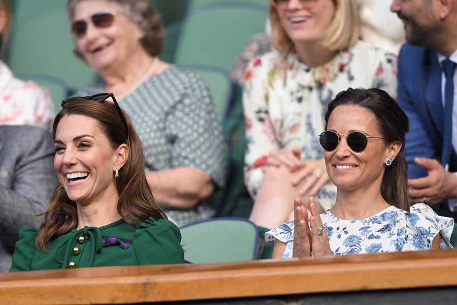 キャサリン妃とピッパさん【写真:Getty Images】