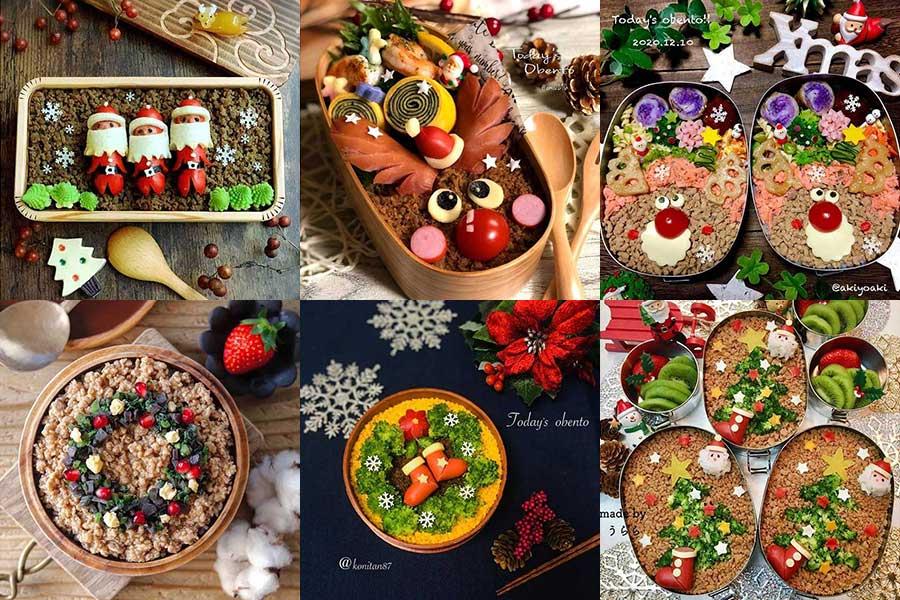 クリスマスモチーフがかわいいお弁当をご紹介