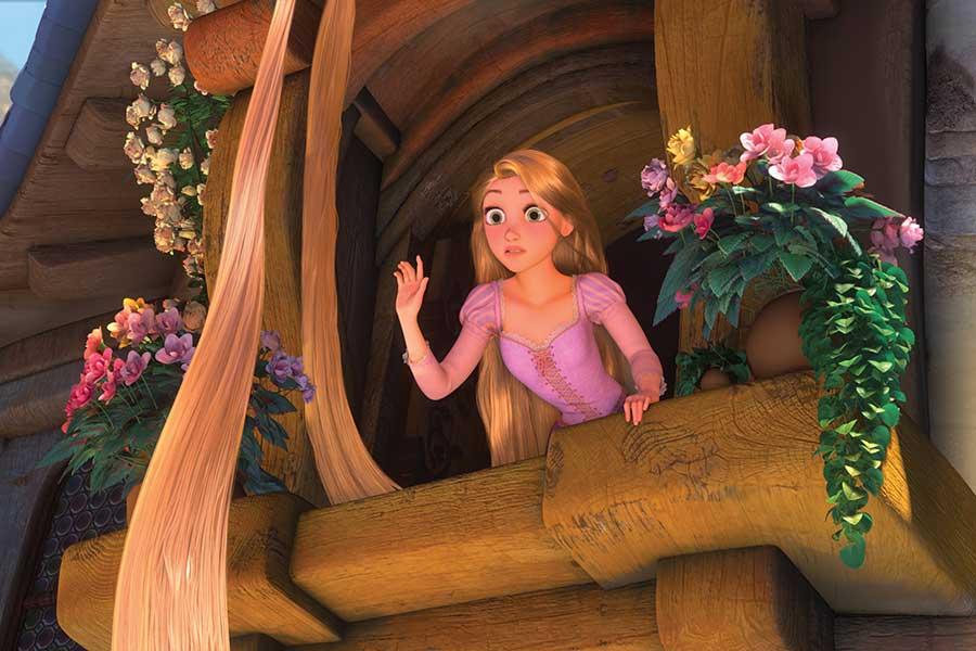 『塔の上のラプンツェル』(c)2020 Disney ディズニープラスで配信中