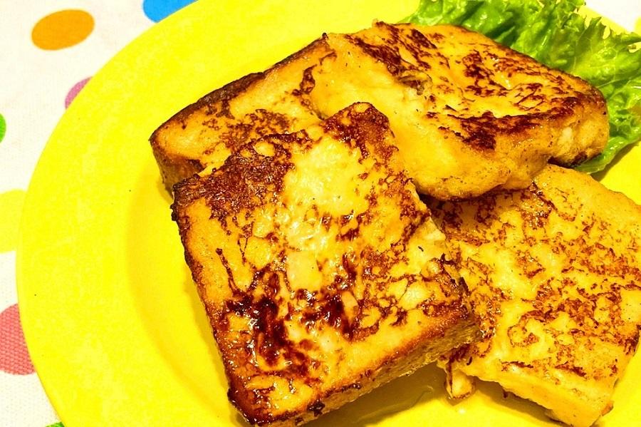 あっさりとした味わいの甘酒を使ったフレンチトースト【写真:和栗恵】