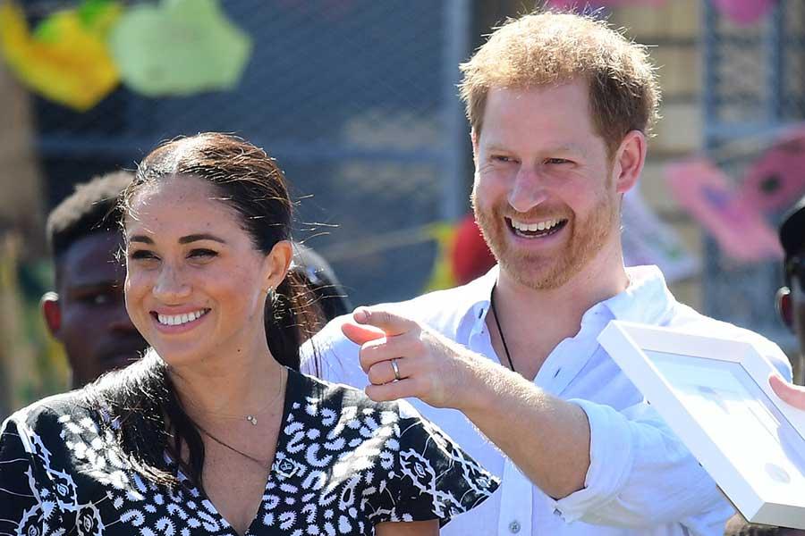 ヘンリー王子とメーガン妃【写真:Getty Images】