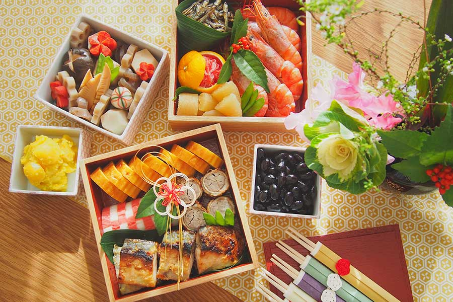 お正月のごちそう、おせち料理(写真はイメージ)【写真:写真AC】