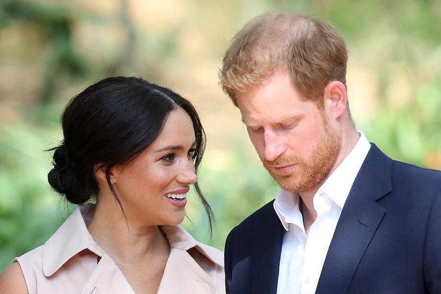 トム・ブラッドビー氏が密着したアフリカツアーでのヘンリー王子とメーガン妃【写真:Getty Images】