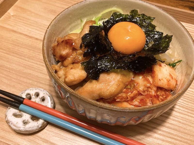 ボリューム満点! 焼肉のタレで簡単に味が決まるのもうれしい【写真:和栗恵】