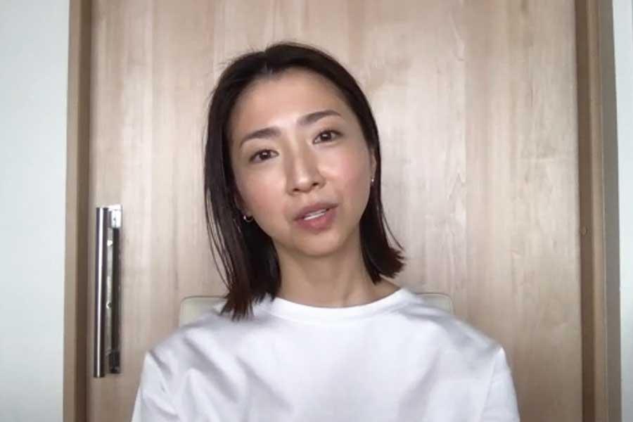 ロッテ美馬学投手の妻アンナさん【写真:Hint-Pot編集部】