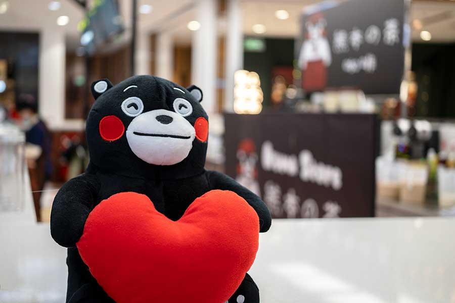 国内外で大人気のくまモン【写真:Getty Images】
