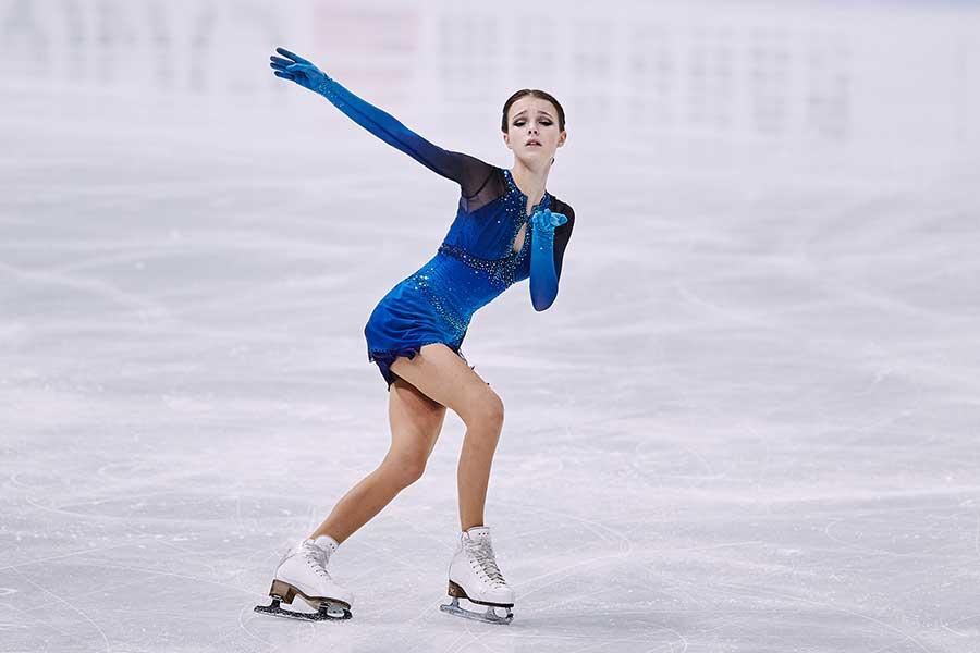 アンナ・シェルバコワ選手【写真:Getty Images】