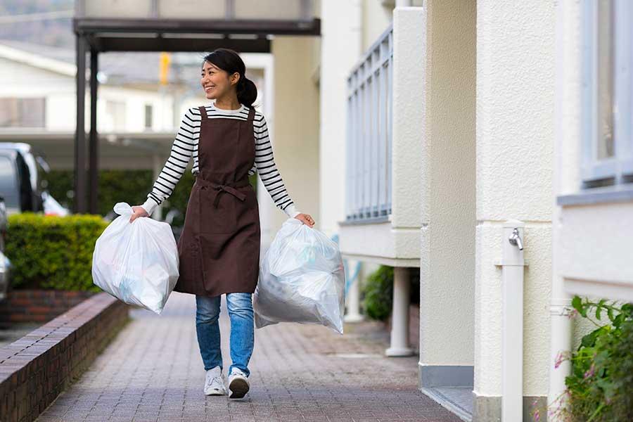 家の中にはゴミを溜めないことが基本(写真はイメージ)【写真:写真AC】