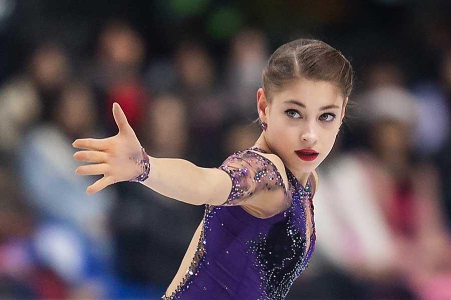 アリョーナ・コストルナヤ選手【写真:Getty Images】