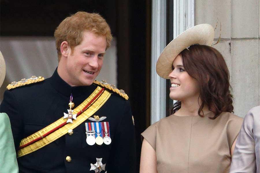 ヘンリー王子とユージェニー王女【写真:Getty Images】