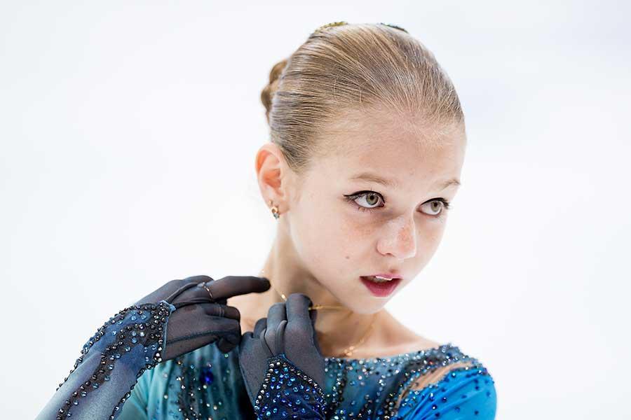 アレクサンドラ・トルソワ選手【写真:Getty Images】