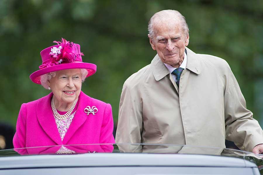 エリザベス女王とフィリップ殿下【写真:Getty Images】