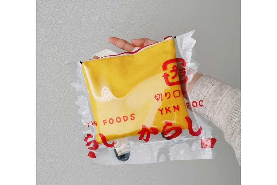 からしの色味や袋のフォントなどは既製品にそっくり【写真提供:yukana(@yukana_scrap)さん】
