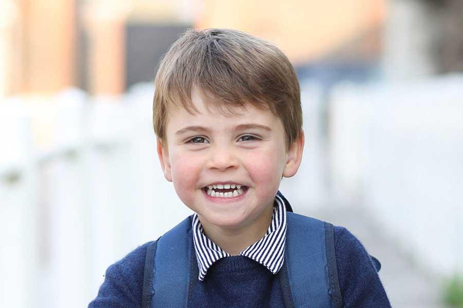 3歳の誕生日を迎えたルイ王子【写真:AP】
