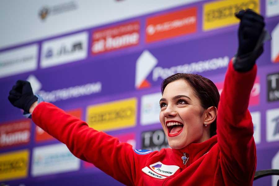 エフゲニア・メドベージェワ選手【写真:Getty Images】