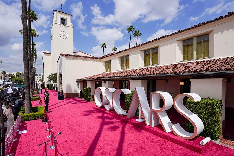 今年の授賞式会場は2か所。米ロザンゼルスのダウンタウンに位置するユニオン駅も会場に【写真:Getty Images】