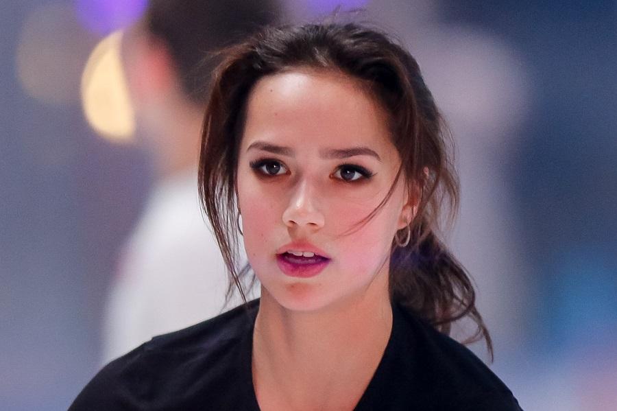 アリーナ・ザギトワ選手【写真:Getty Images】
