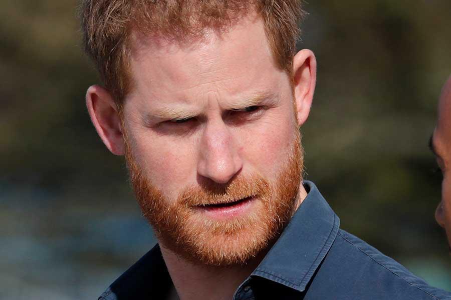 ヘンリー王子【写真:AP】