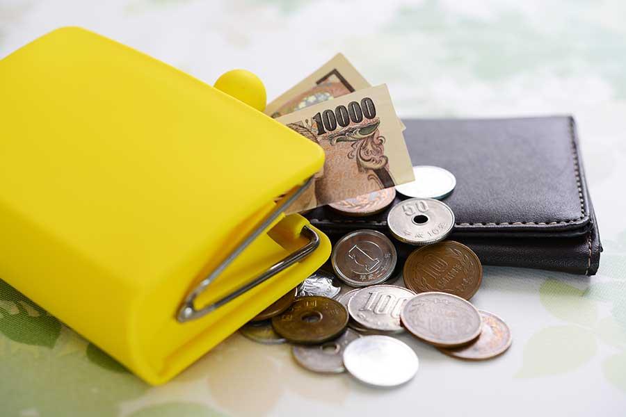 財布の色と形状にこだわって金運アップを(写真はイメージ)【写真:写真AC】