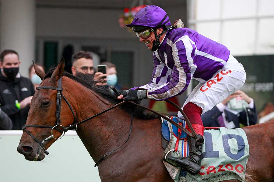 伝説の名馬・ディープインパクトの娘が英国で圧巻のレース展開【写真:AP】
