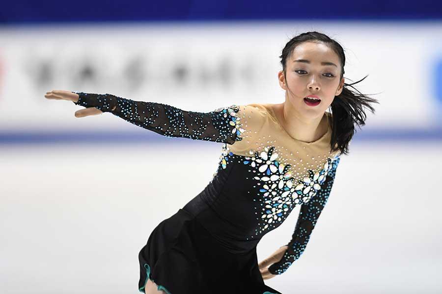 本郷理華選手【写真:Getty Images】