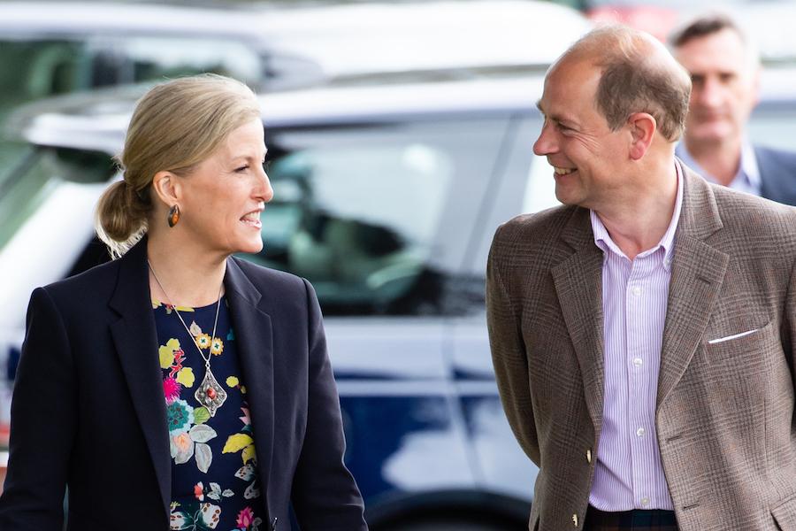 エドワード王子とソフィー妃【写真:Getty Images】