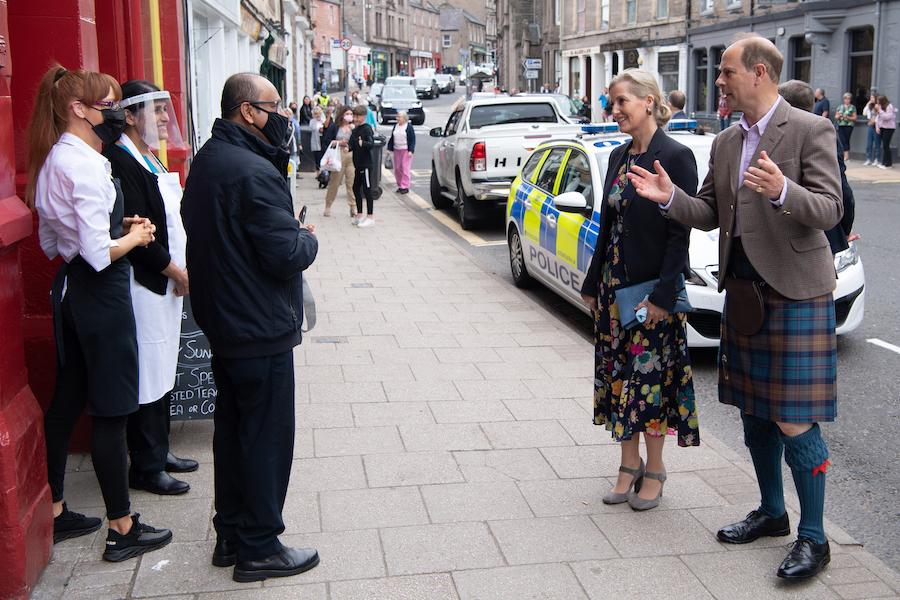 6月のスコットランド訪問では伝統衣装のキルト姿で公務【写真:Getty Images】