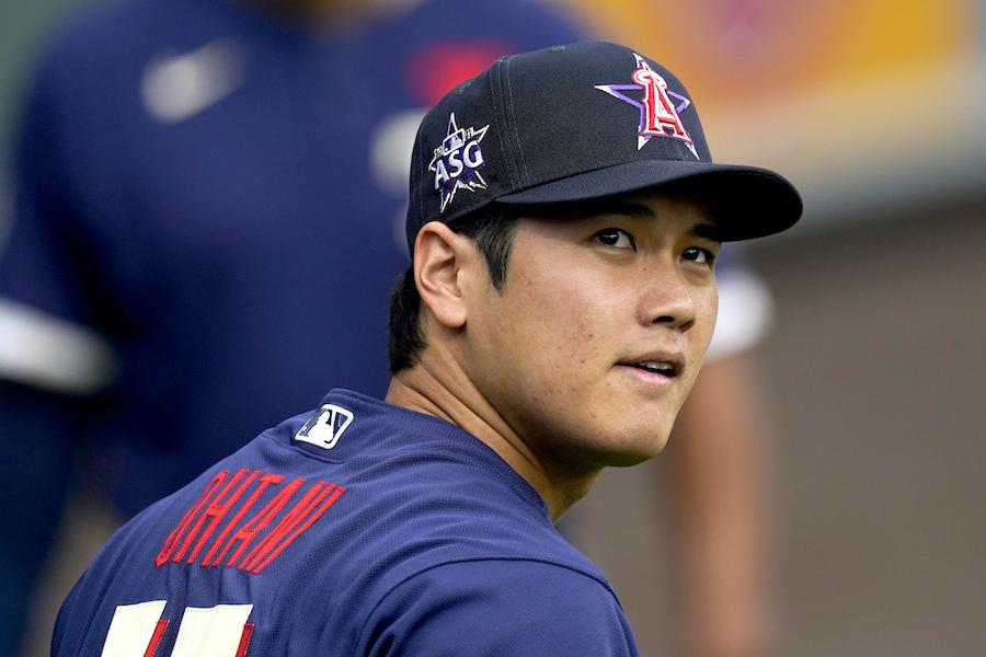 MLBオールスターに出場した大谷翔平選手【写真:AP】