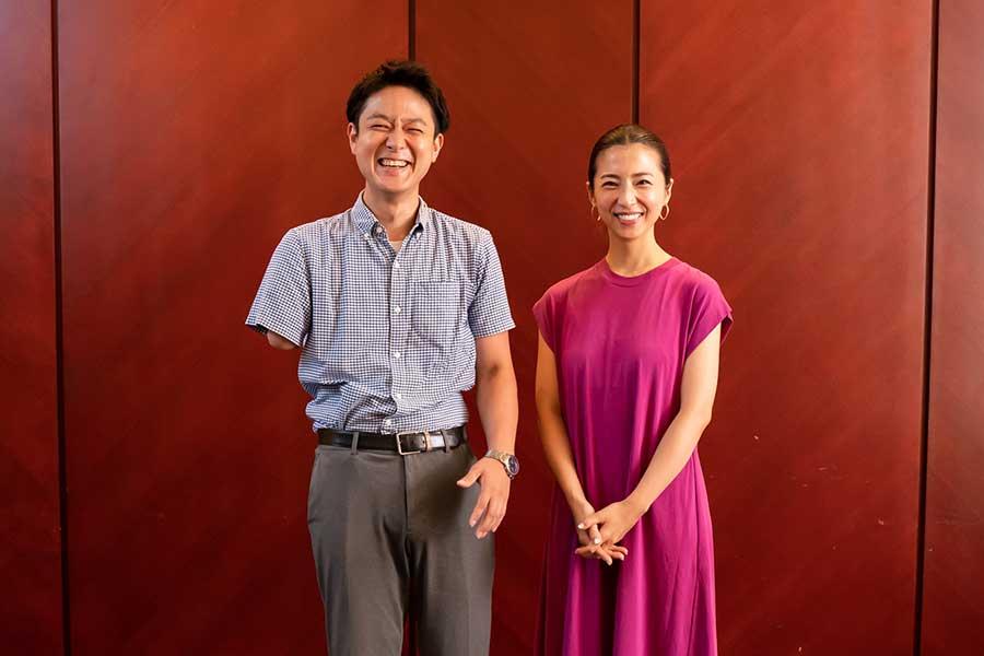 山田千紘さん(左)と美馬アンナさん【写真:荒川祐史】