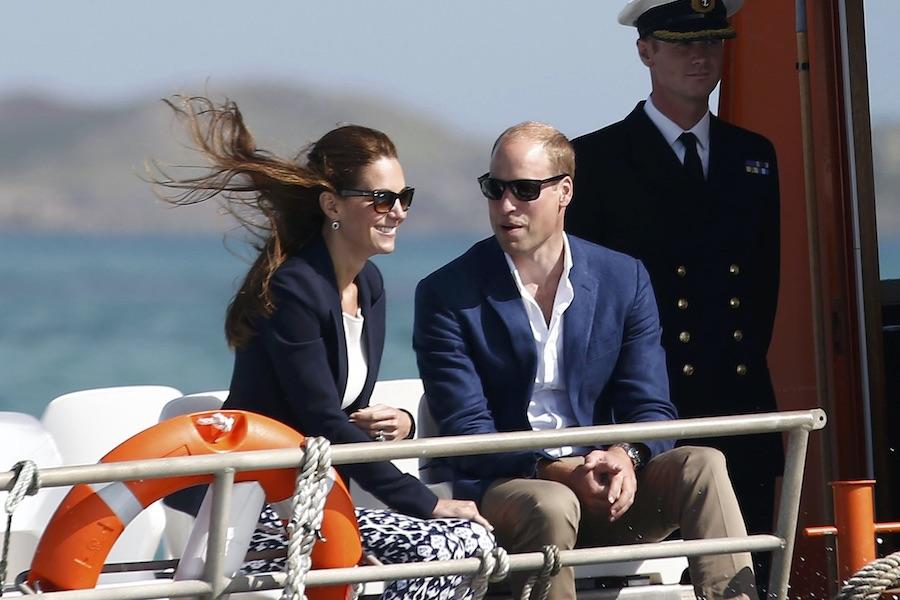 2016年9月に公務で訪問した際のウイリアム王子とキャサリン妃【写真:Getty Images】