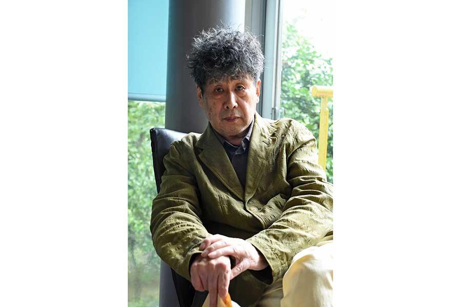横尾忠則さん(2020年)【写真:角南範子】
