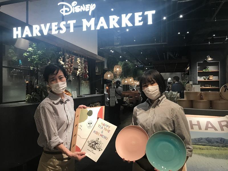 渋谷ヒカリエ7階に開業したカフェ&ギフトショップ「ディズニー・ハーベスト・マーケット」【写真:Hint-Pot編集部/By CAFE COMPANY(c)Disney】