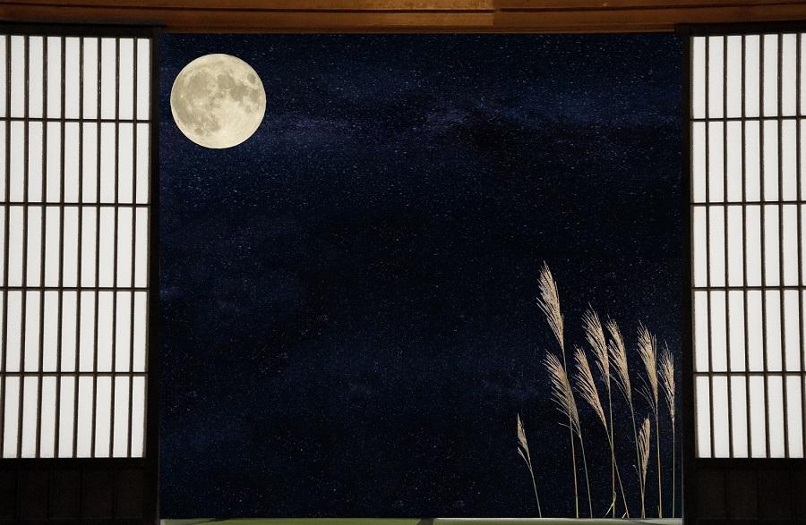 お月見は古くから伝わる風習(写真はイメージ)【写真:写真AC】
