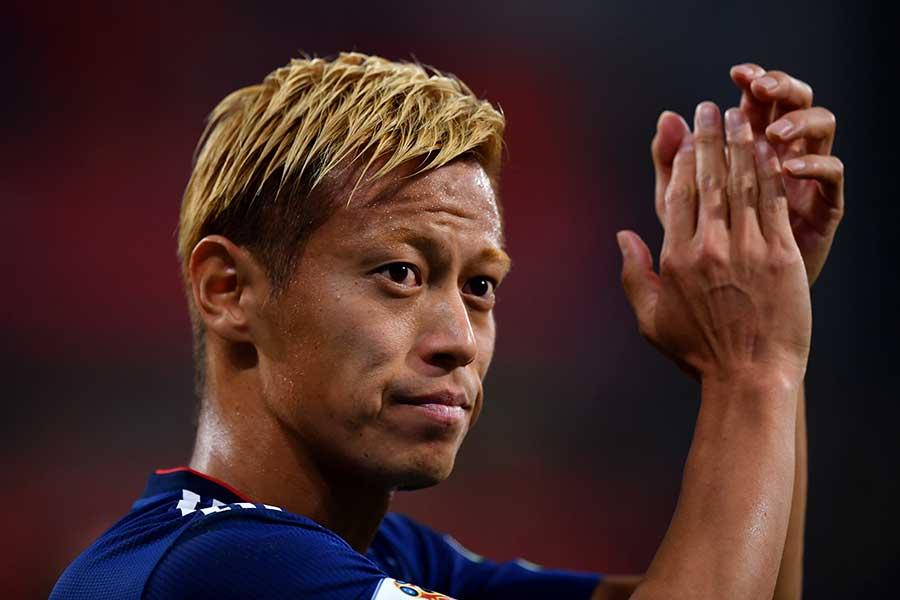 本田圭佑選手(2018年)【写真:Getty Images】