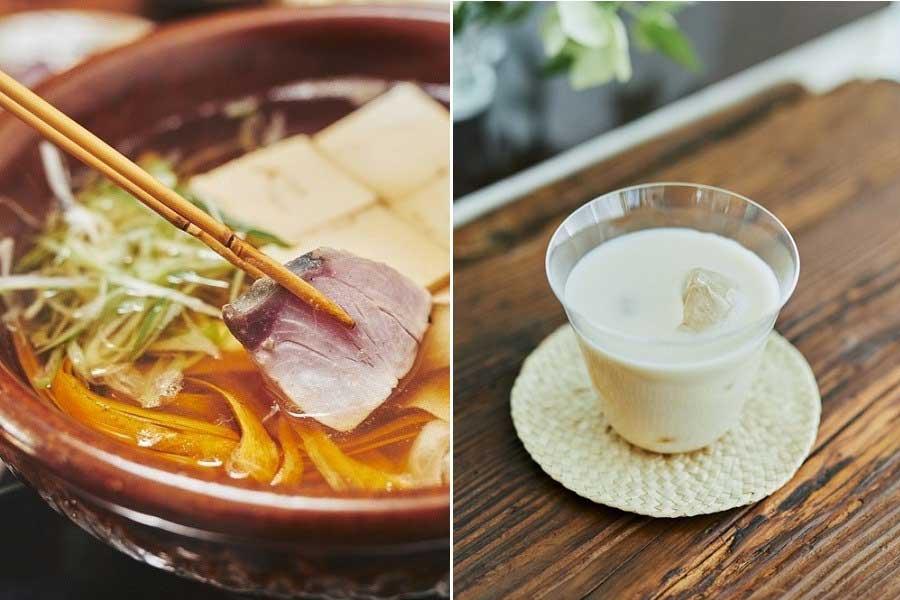 「キリン 生茶 ほうじ煎茶」を使用した簡単アレンジレシピ2種【写真提供:キリンビバレッジ】